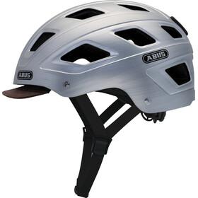 ABUS Hyban casco per bici argento
